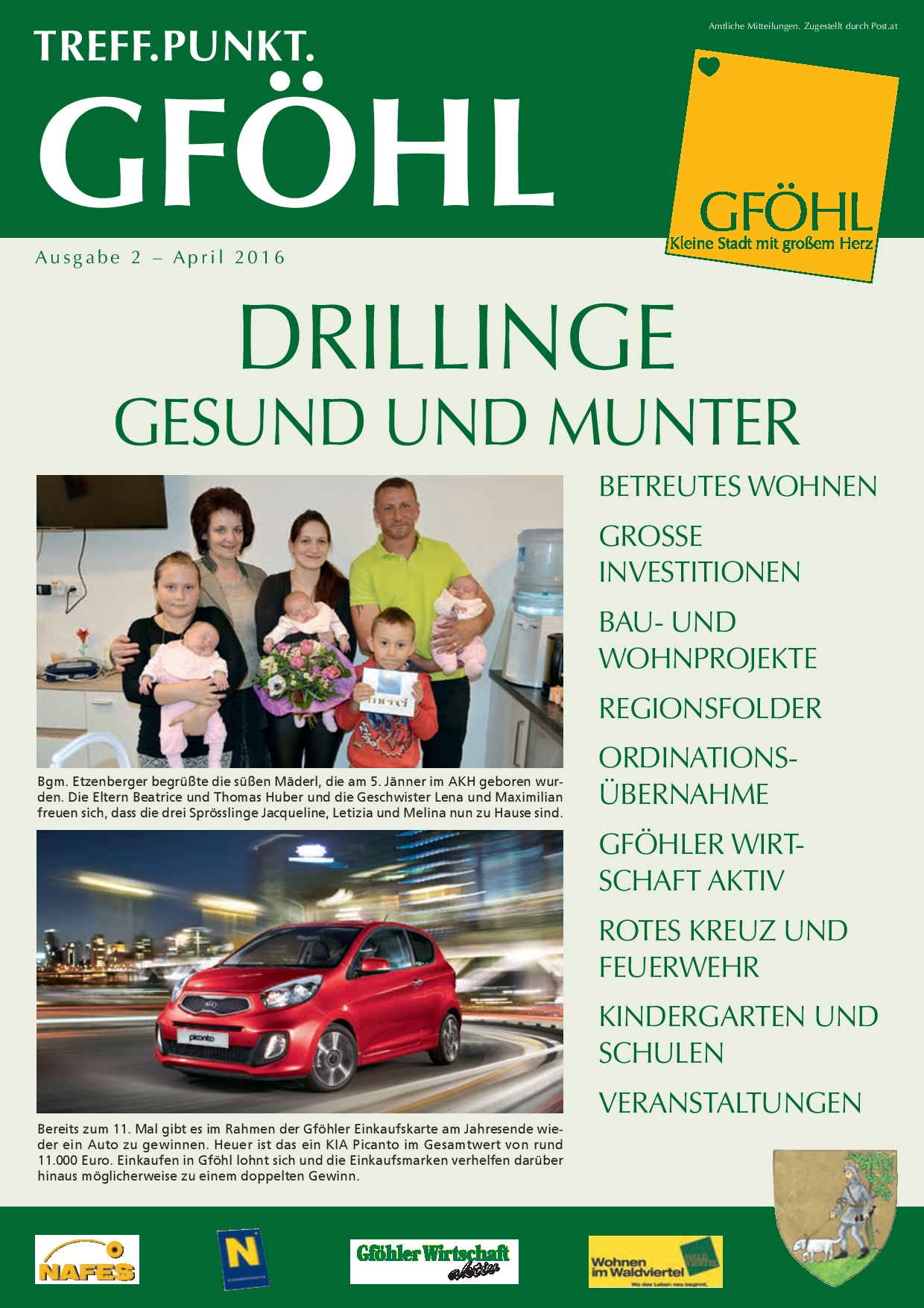 Vlker Helga - Stadtgemeinde Gfhl - Gfhl - Wohnen