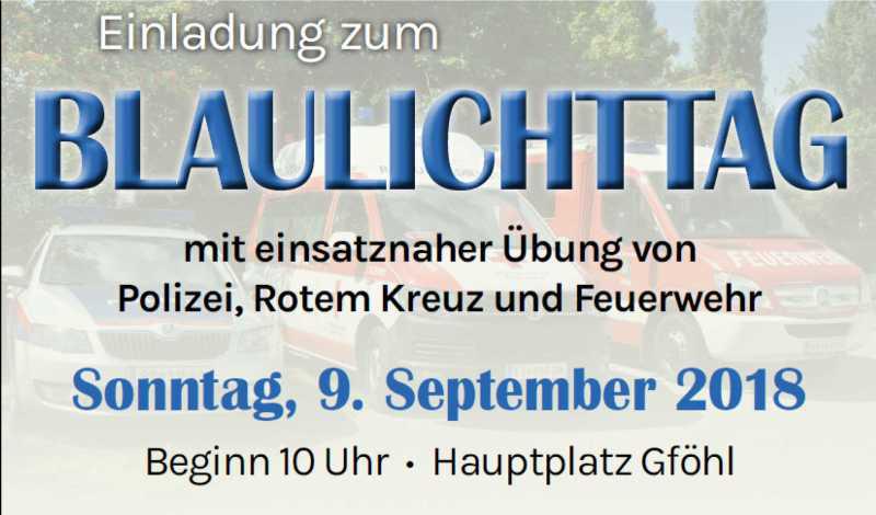 Veranstaltungs - Stadtgemeinde Gfhl - Gfhl